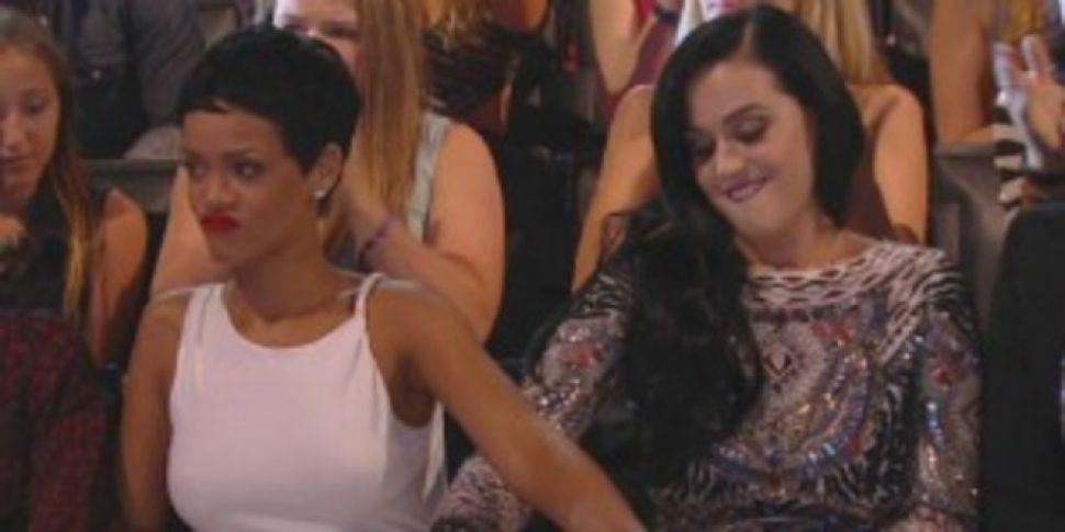 Katy Perry dishes on Rihanna's...