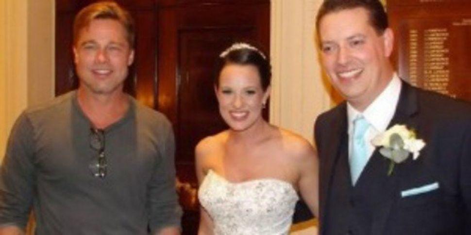 Brad Pitt wedding crasher