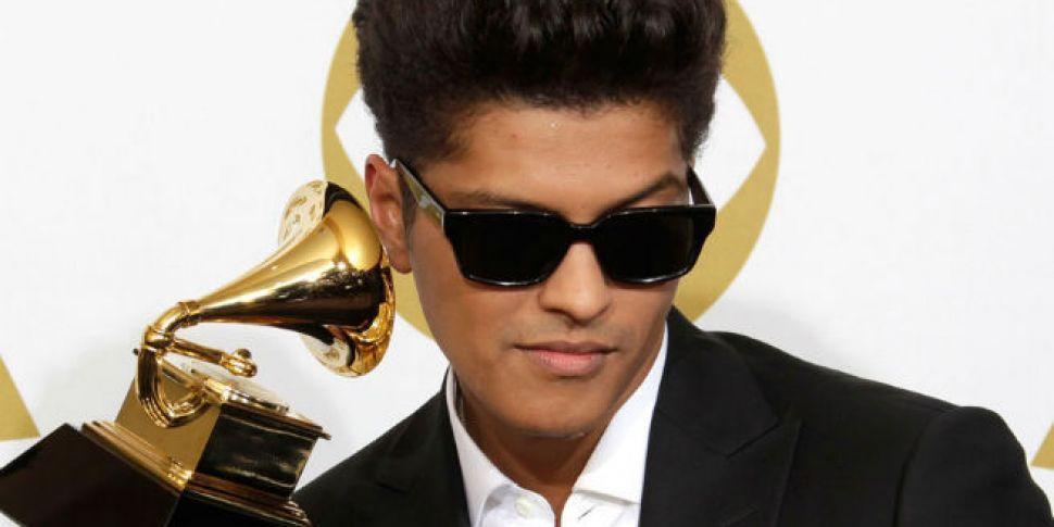 Bruno Mars for Super Bowl 2016