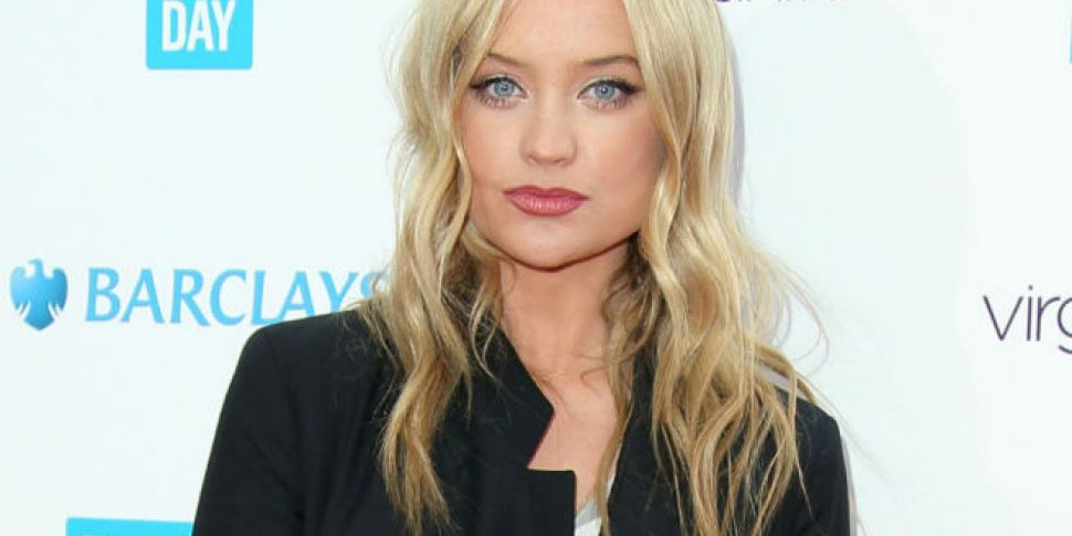 Laura Whitmore Spotted Kissing...