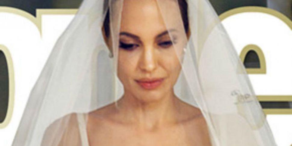 Angelina Jolie 39 S Wedding Dress Revealed Www 98fm Com