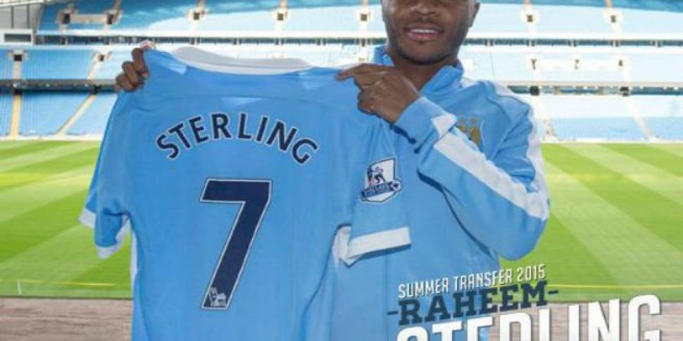 Sterling Thanks Liverpool Afte...