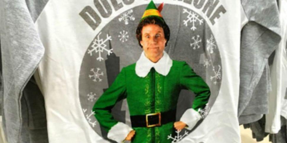 Penneys Is Selling Elf Pyjamas...