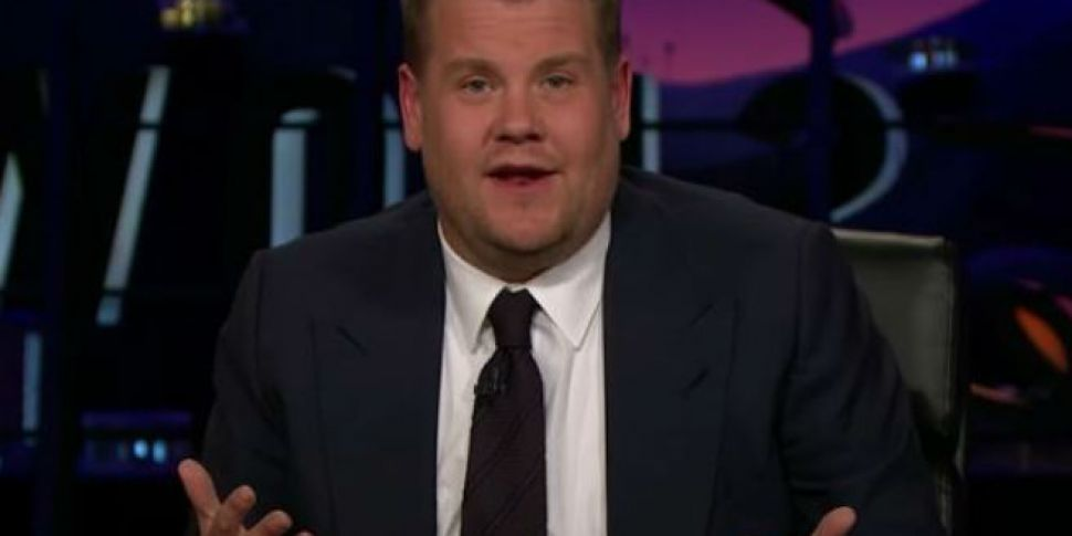 Watch James Corden's Emoti...