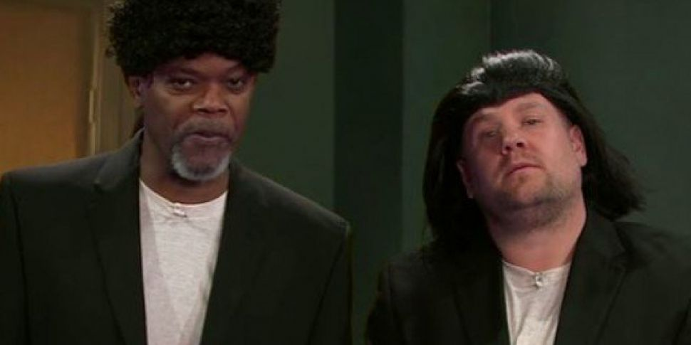 Samuel L Jackson and James Cor...