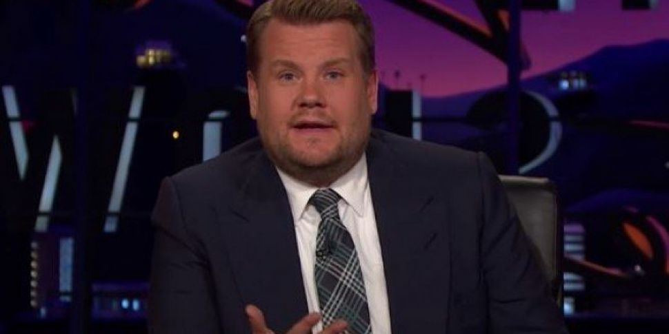 James Corden Delivers Emotiona...