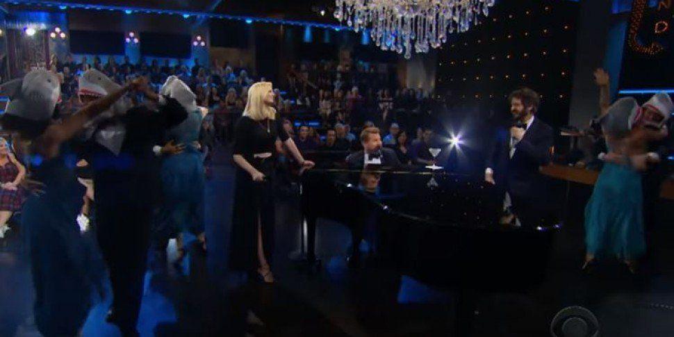 """James Corden Performs """"Bab..."""