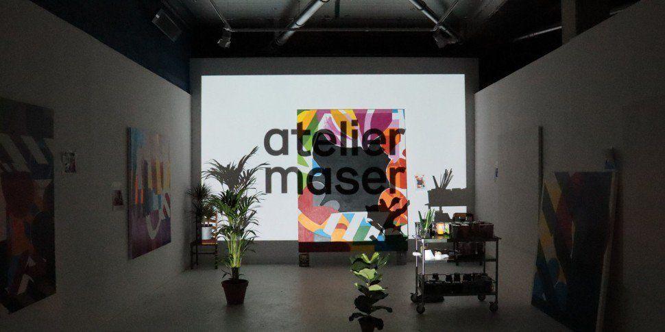 Irish Artist Maser Is Opening...