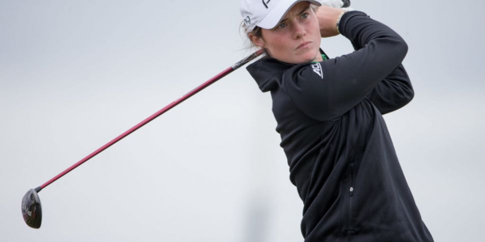 Leona Maguire inside the top 2...