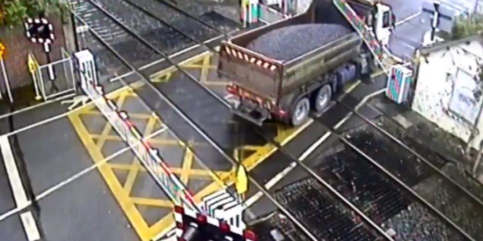 Irish Rail Releases Footage Of...