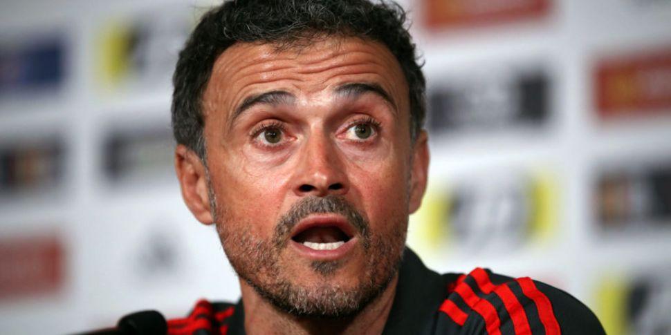Luis Enrique has quit as Spain...