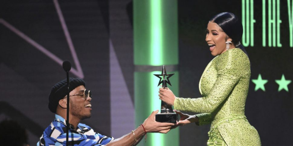 Cardi B Takes Home Award For A...