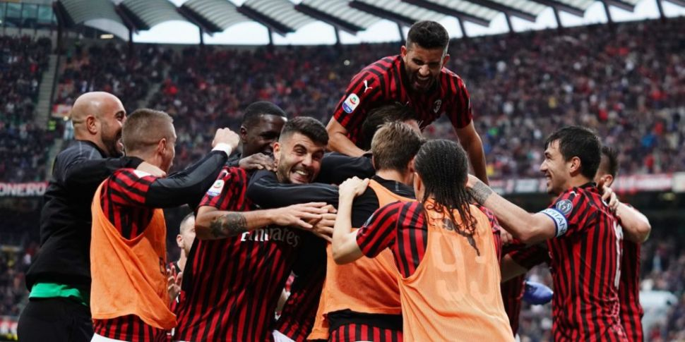 AC Milan banned from European...