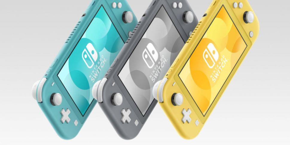 Nintendo Switch Lite; a Switch...