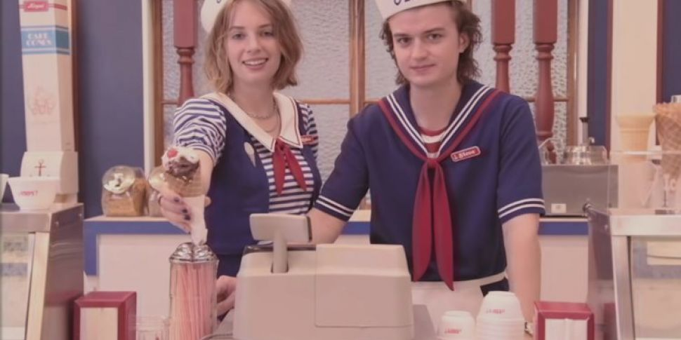 A Stranger Things Ice Cream Pa...