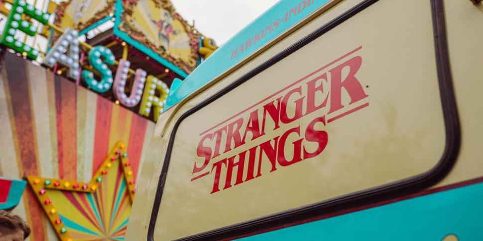 Stranger Things Ice Cream Parl...