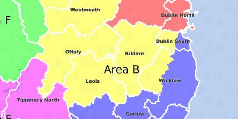 Dublin To Be Split Into Three...