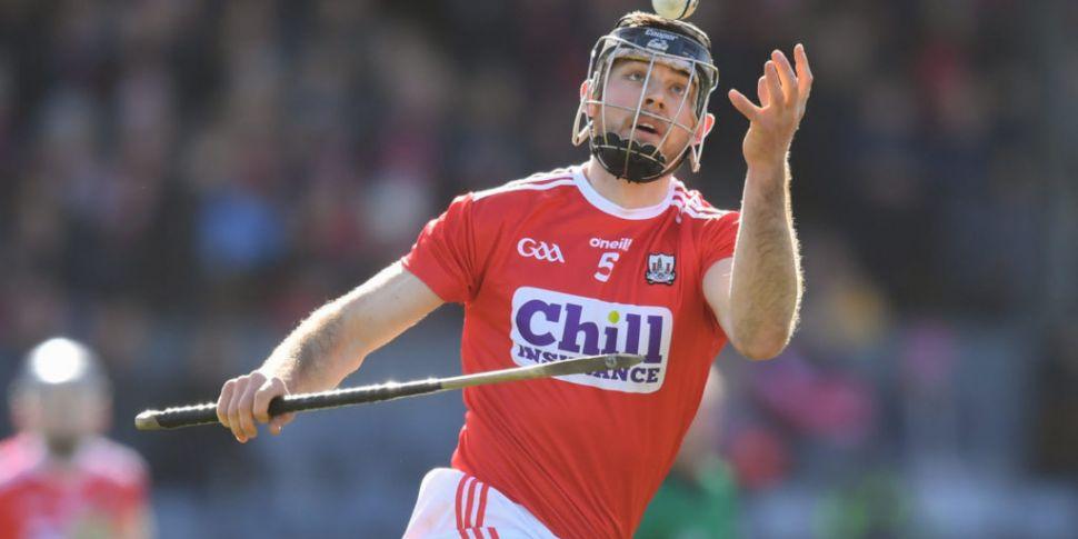 Cork hurler Christopher Joyce...