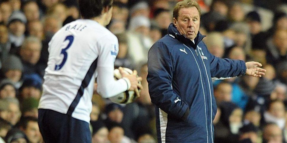 Harry Redknapp: 'Bale is not c...