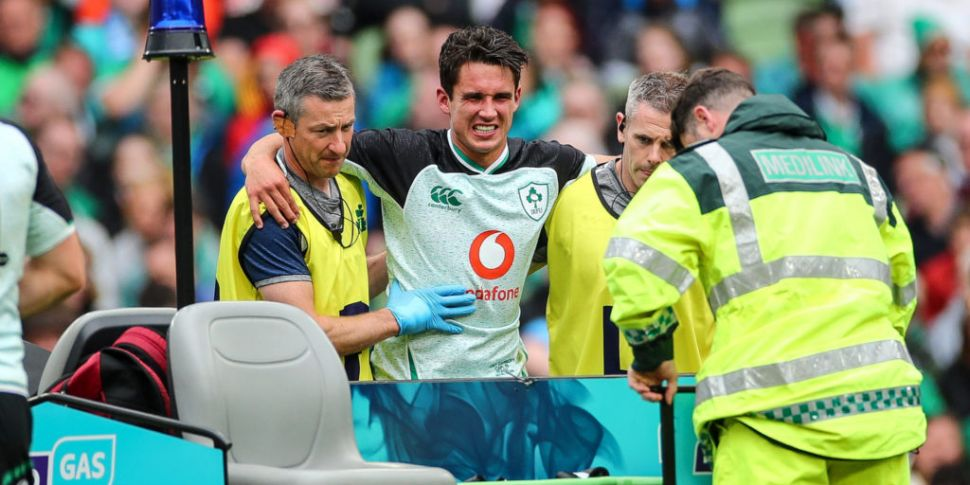 Joey Carbery out for up to six...