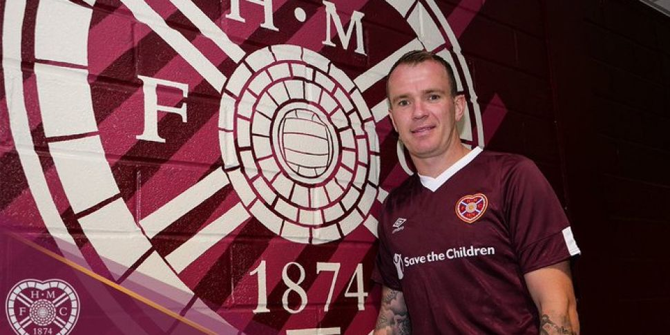 Glenn Whelan joins Hearts