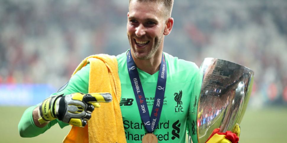 Adrian a doubt for Liverpool's...