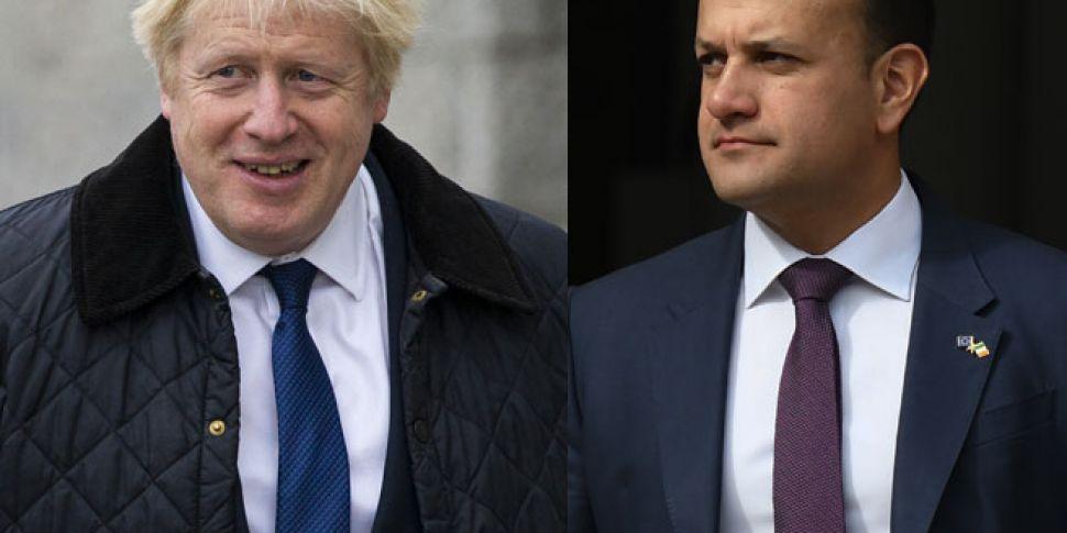 Taoiseach And British Prime Mi...