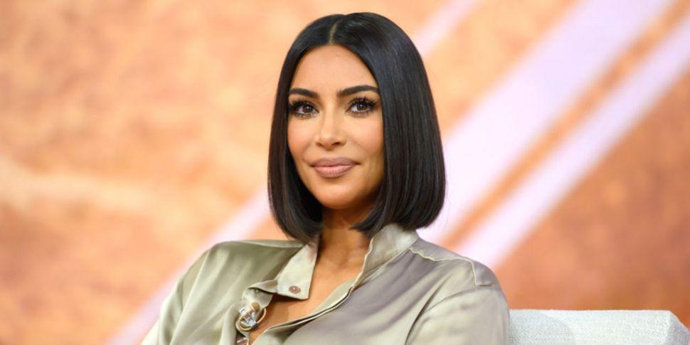 Kim Kardashian Spotted Wearing...