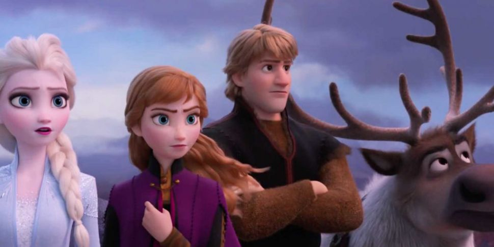 A Brand New Trailer For Frozen...