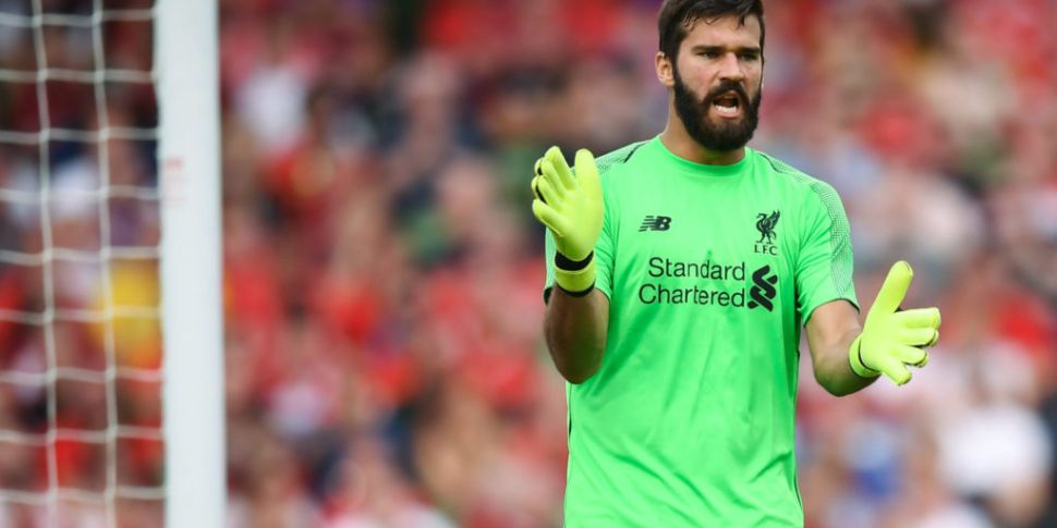 Alisson to resume training on...