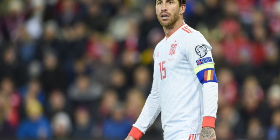 Ramos left out of Spain squad...