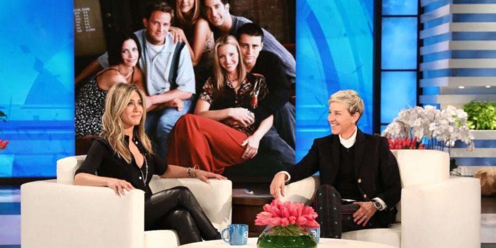 Jennifer Aniston Confirms Frie...