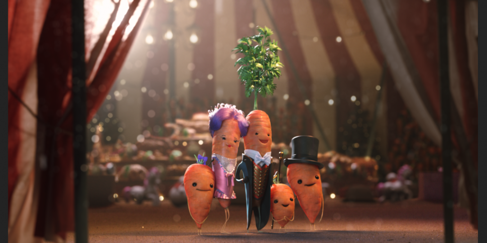 Kevin The Carrot Faces The Lea...