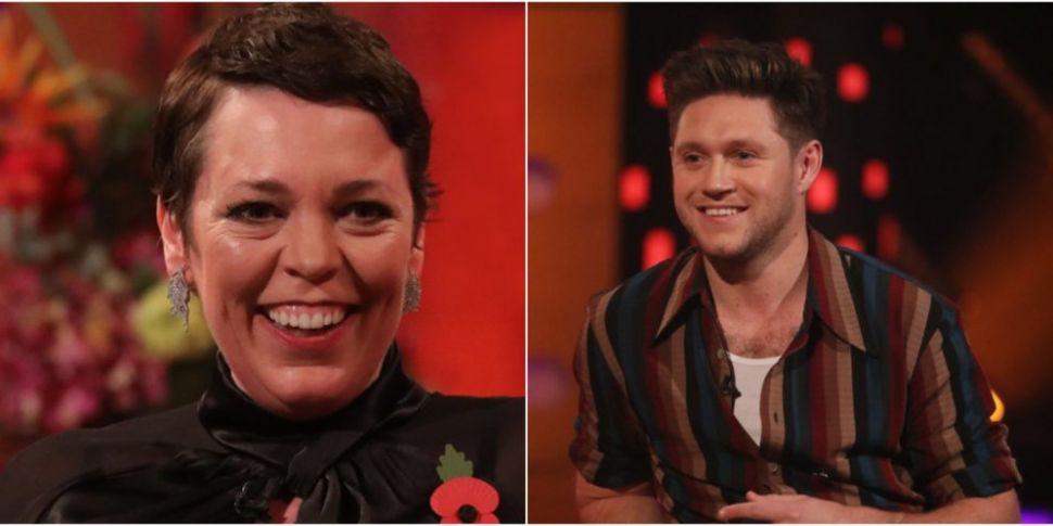 Olivia Colman & Niall Horan Am...