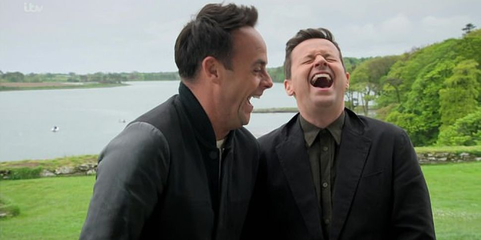 Ant And Dec Find Out They're A...