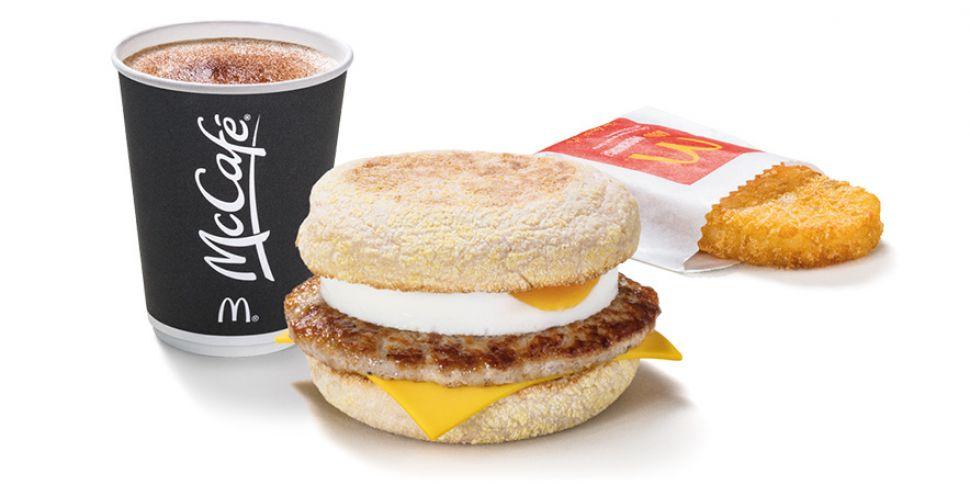 McDonald's Extending Breakfast...