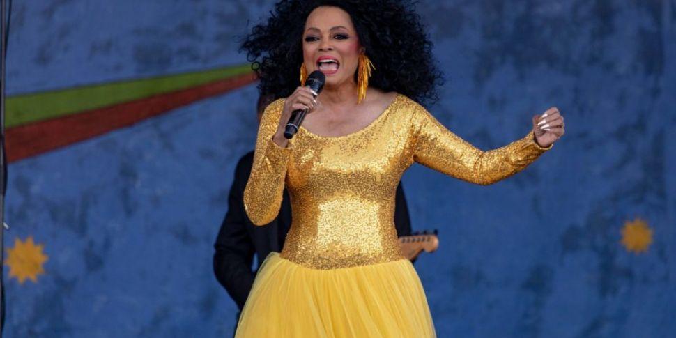 Diana Ross To Play Dublin & Co...
