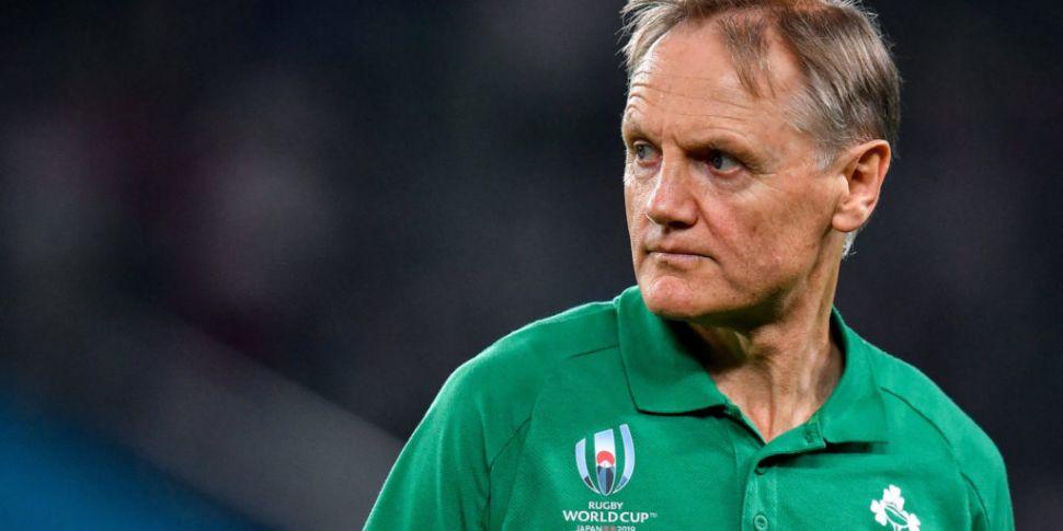 Joe Schmidt wanted Ireland v S...