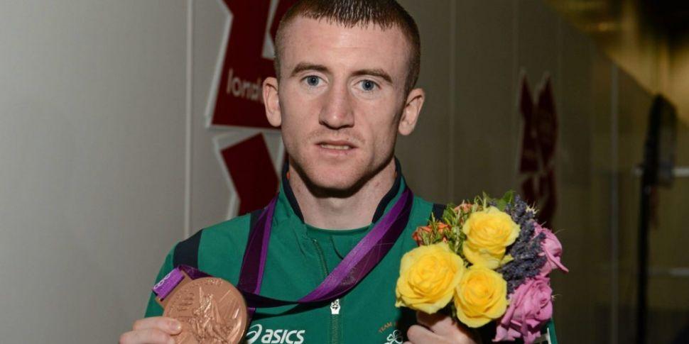 Paddy Barnes hangs up his glov...