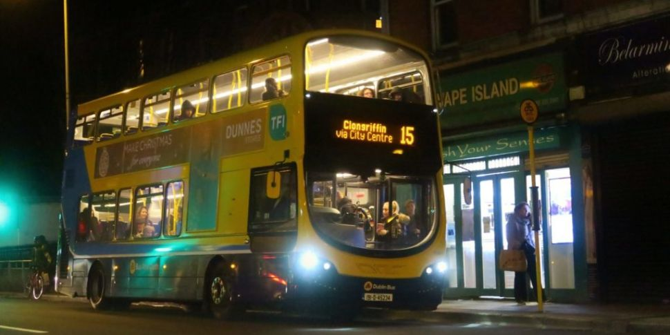 Dublin's New 24 Hour Bus Route...