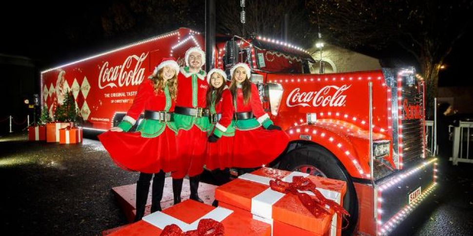 The Coca-Cola Christmas Truck...