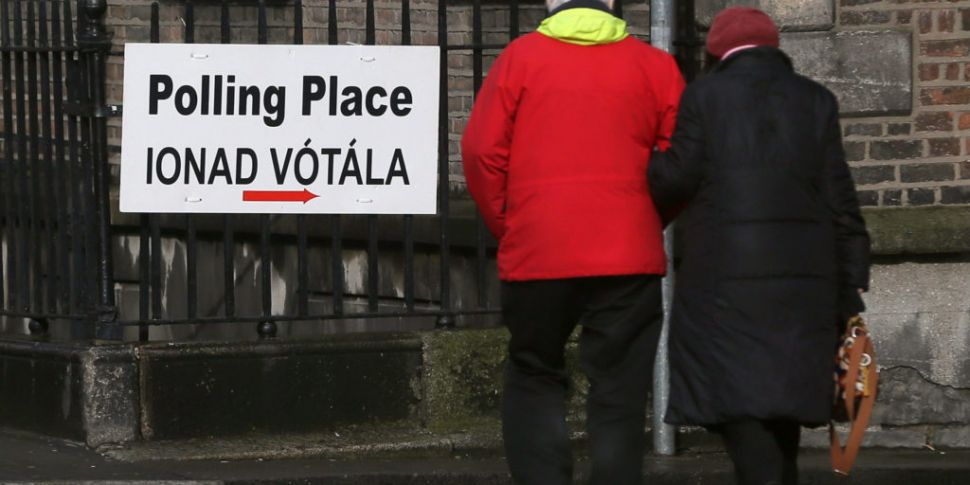 Dublin Voters Going To The Pol...