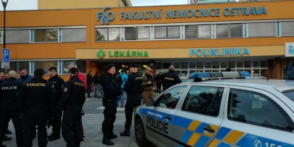 6 People Shot Dead At Czech Re...