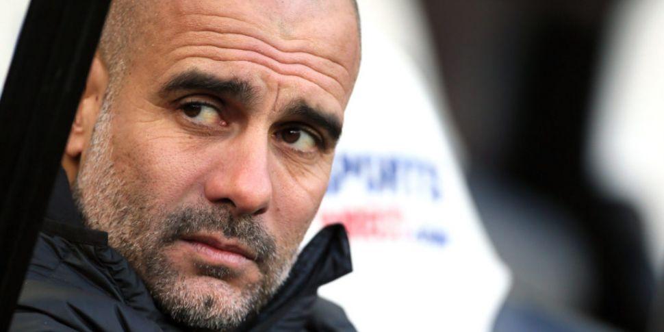 Pep Guardiola shoots down talk...
