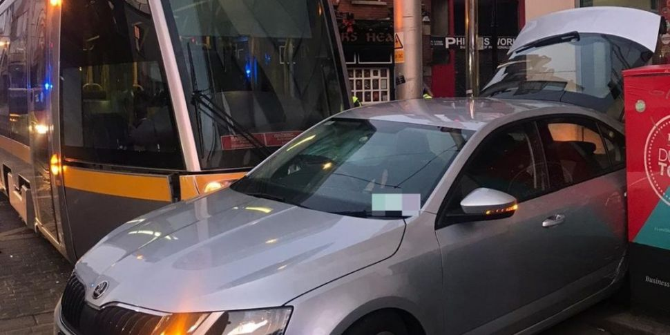 Two Hurt In Crash On Luas Line