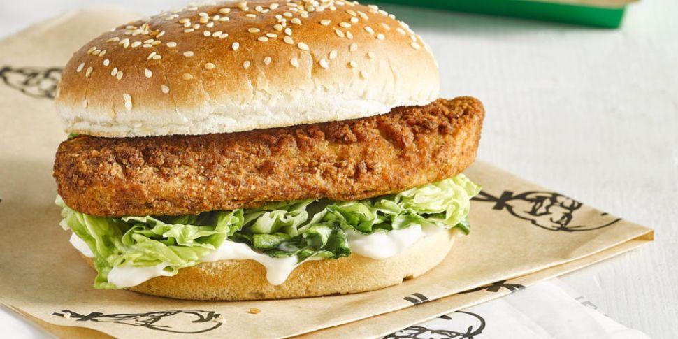 KFC Launches Vegan Burger In I...