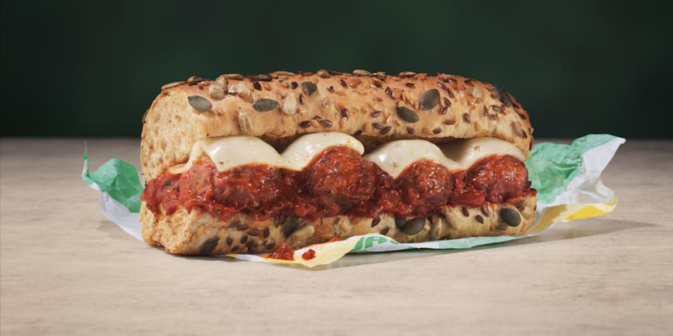 Subway Launches Vegan Meatball...