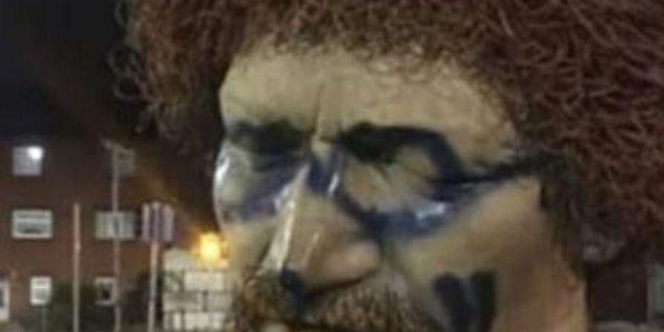 Luke Kelly Statue Vandalised F...