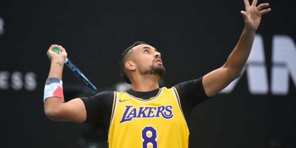 Nick Kyrgios says Kobe Bryant...
