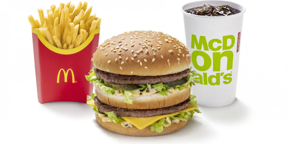 Just Eat To Offer McDonald's D...